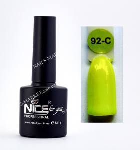 Гель-лак Nice серия cool C92