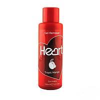 """Жидкость для снятия липкого слоя Gel Cleancer """"Mango"""" 100 ml Heart Germany"""