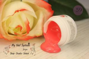 Гель-краска для ногтей My Nail №59 лососево- розовый