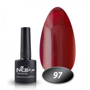 Гель-лак Nice 8.5мл № 097 красно-коричневый