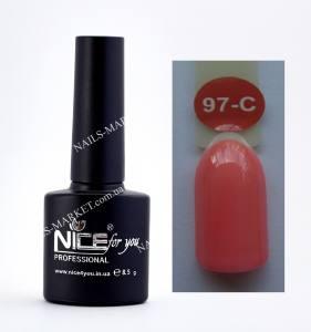 Гель-лак Nice серия cool C97 персиковый