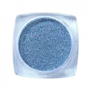 Komilfo блесточки 002, размер 1, (серебро, голограмма), 2,5 г