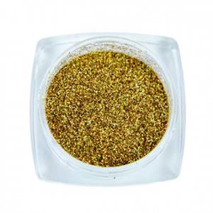 Komilfo блесточки 003, размер 0,08 мм (золото, голограмма), 2,5 г