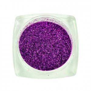 Komilfo блесточки 009, размер 0,1 мм (фиолетовые, голограмма) 2,5 г