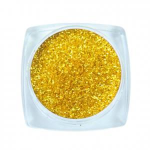 Komilfo блесточки Solvent Resistance Series 401, размер 0,1 мм, 2,5 г золотой