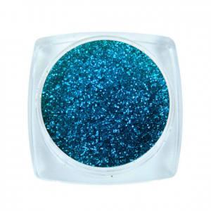 Komilfo блесточки Solvent Resistance Series 409, размер 0,1 мм, 2,5 г сине-голубой