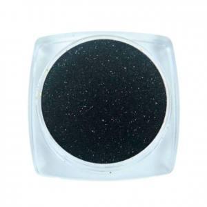 Komilfo блесточки Solvent Resistance Series 414, розмір 0,1 мм, 2,5 г темний графіт