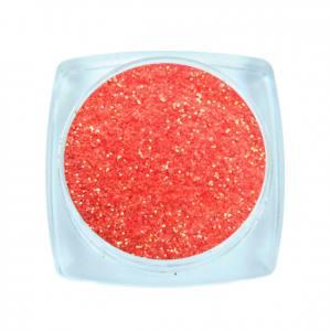 Komilfo блесточки Rainbow Series 501, размер 0,2 мм, 2,5 г коралловый