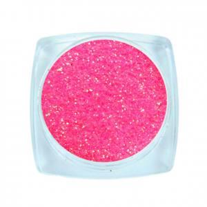 Komilfo блесточки Rainbow Series 502, размер 0,2 мм, 2,5 г неоново-розовый