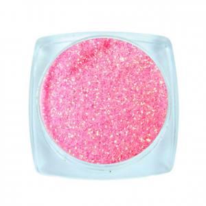 Komilfo блесточки Rainbow Series 503, размер 0,2 мм, 2,5 г неоновый светло-розовый