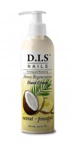 Увлажняющий крем для рук с тропическим коктейлем кокоса и ананасаDIS nails 250мл