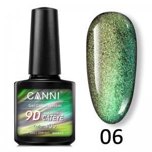 Гель-лак 9D Galaxy Cat eye Canni  7,3 ml №6