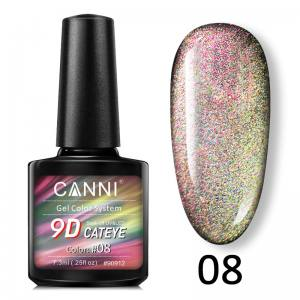 Гель-лак 9D Galaxy Cat eye Canni  7,3 ml №8