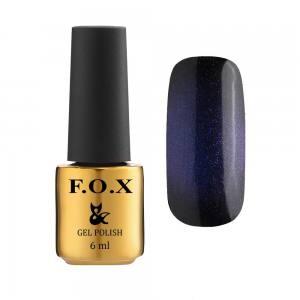 Гель-лак F.O.X Cat eye 9D №002, фиолетово-синий, 6 мл