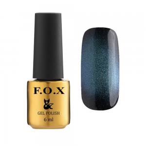 Гель-лак F.O.X Cat eye 9D №003, сине-зеленый, 6 мл