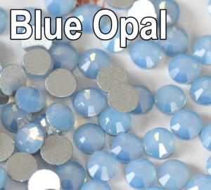 Cтразы blue opal ss5 100шт