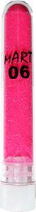 Песочек Бархатный 06 розовый неон полупрозрачный