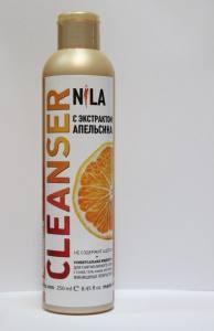Жидкость для снятия липкого слоя  Nila 250мл  апельсин