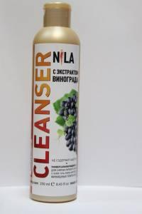 Жидкость для снятия липкого слоя  Nila 250мл  виноград