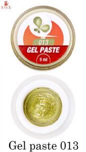 Гель-паста F.O.X Gel paste №13 золото