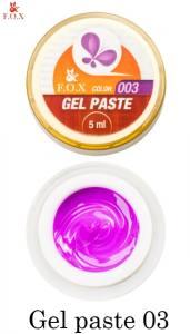 Гель-паста F.O.X Gel paste №3