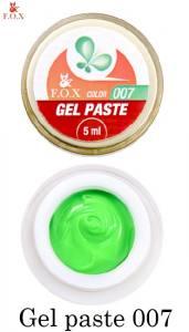 Гель-паста F.O.X Gel paste №7