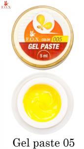 Гель-паста F.O.X Gel paste №5