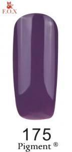 Гель-лак FOX №175 (фиолетовый, эмаль), 6 мл