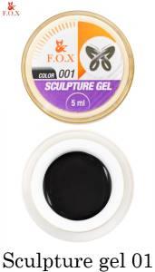 Гель-пластилин F.O.X Sculpture gel №1
