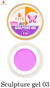 Гель-пластилин F.O.X Sculpture gel №3