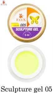 Гель-пластилин F.O.X Sculpture gel №5