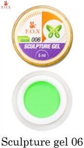 Гель-пластилин F.O.X Sculpture gel №6