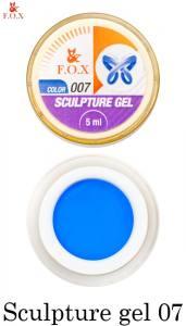 Гель-пластилин F.O.X Sculpture gel №7