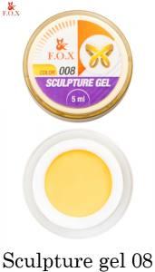 Гель-пластилин F.O.X Sculpture gel №8