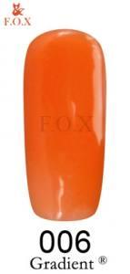 Гель-лак для ногтей F.O.X Gel-polish Gradient 12 мл №6