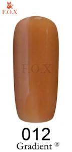 Гель-лак для ногтей F.O.X Gel-polish Gradient 12 мл №12