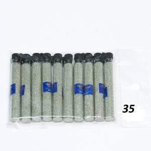 Пыль для дизайна ногтей в капсулах  Master Professional №35