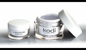 Гель для ногтей Kodi UV Builder Gel Clear Ice (Прозрачный Конструирующий Гель) 14мл