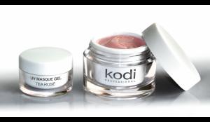 """Гель для ногтей Kodi UV Masque Gel Tea Rose (Гель Матирующий """"Чайная Роза"""") 14мл"""
