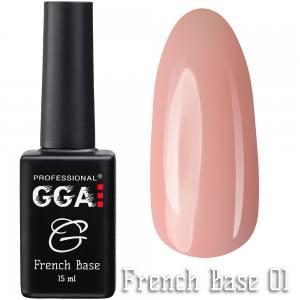 Френч база GGA Professional 01 15мл