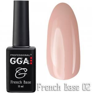 Френч база GGA Professional 02 15мл