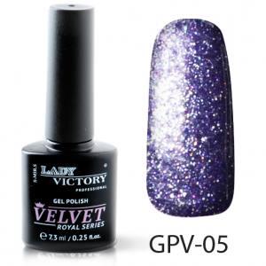 Сахарный/текстурный гель-лак Lady Victory №5  космическое сияние