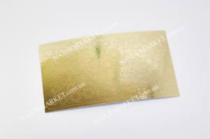 Метал наклейка золото №34з