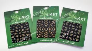 Наклейка для дизайна ногтей Mart