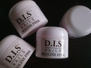 Гель розово-прозрачный  DIS proline pink  30г