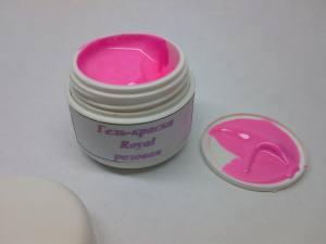 Гель-краска Royal розовая  5г