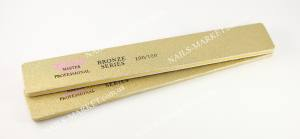 Пилка Master 100/100 широкая золото