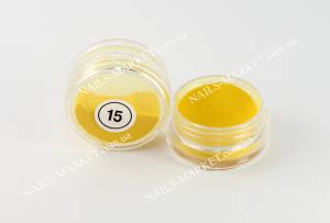 Акрил My Nail №15 желтый