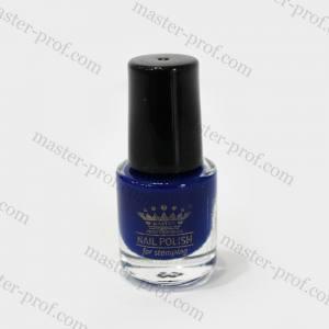 Лак-краска для стемпинга Master 5мл синяя