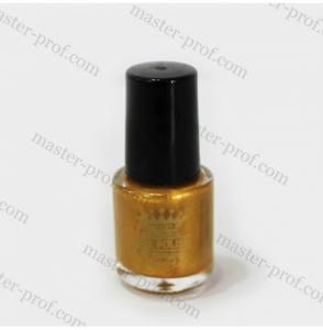 Лак-краска для стемпинга Master 5мл золото